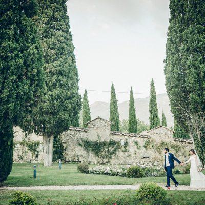 Un matrimonio in un antico convento in Umbria