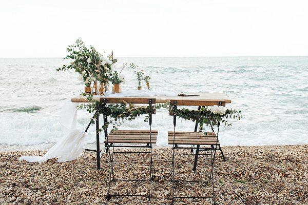 Un matrimonio organico sul mare