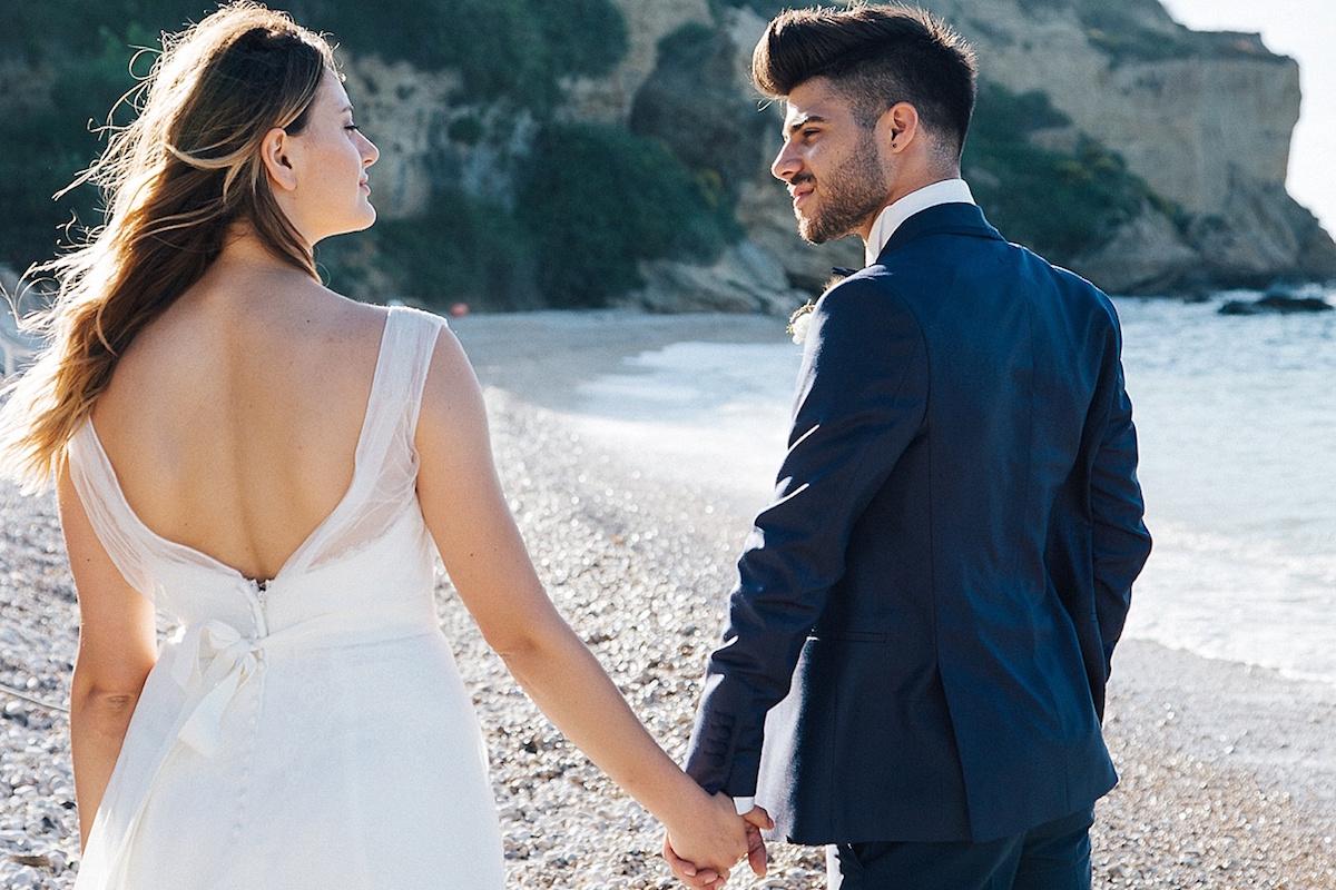 matrimonio organico sul mare