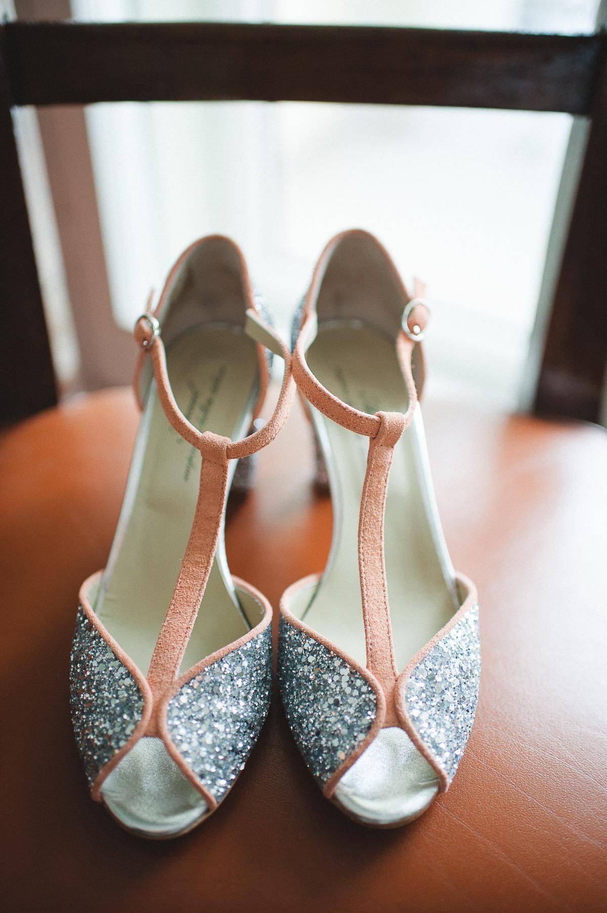 scarpe argento e pesca anniel