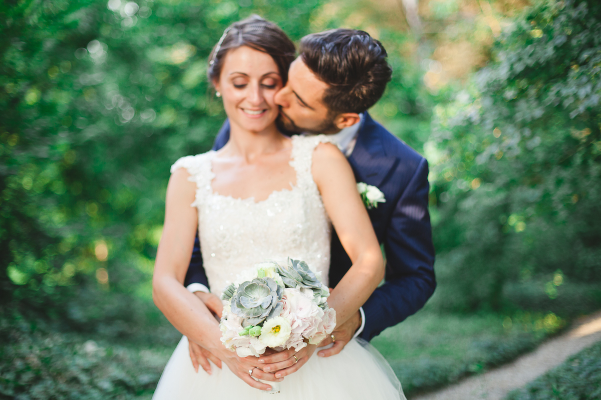 matrimonio romantico ispirato alla montagna
