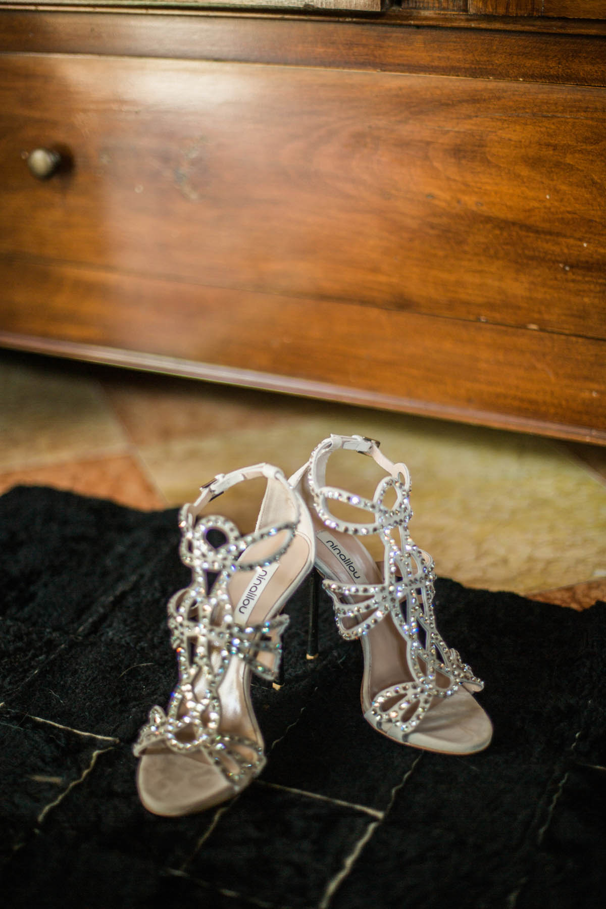 sandali gioiello da sposa