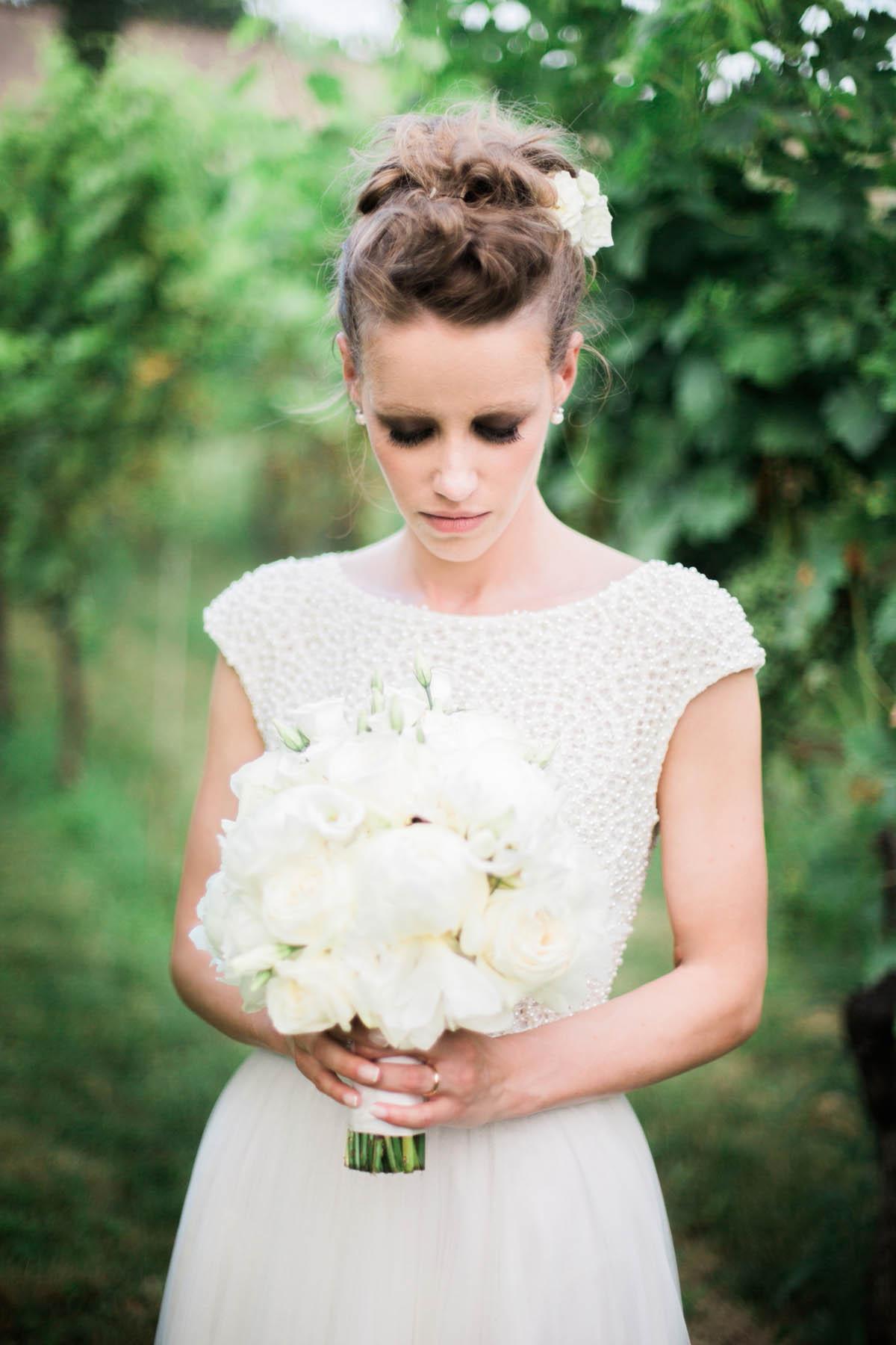 make up drammatico da sposa
