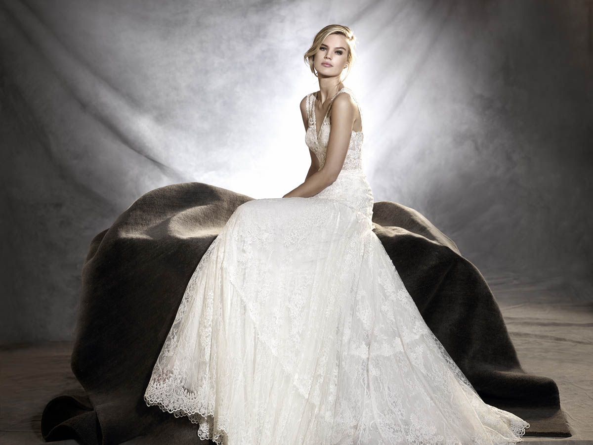 pronovias sposa 2017 - modello OSMANY