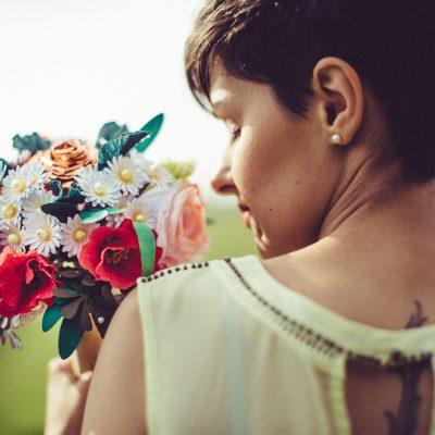 Bouquet alternativi e fiori di carta con Unusual bouquet