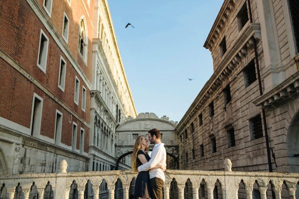 Una engagement session a Venezia
