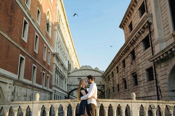 Una engagement session a Venezia