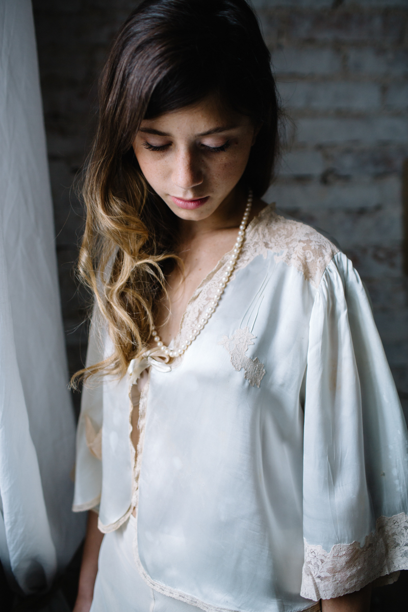 boudoir sposa vintage