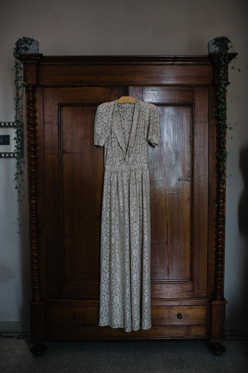 abito vintage anni '30