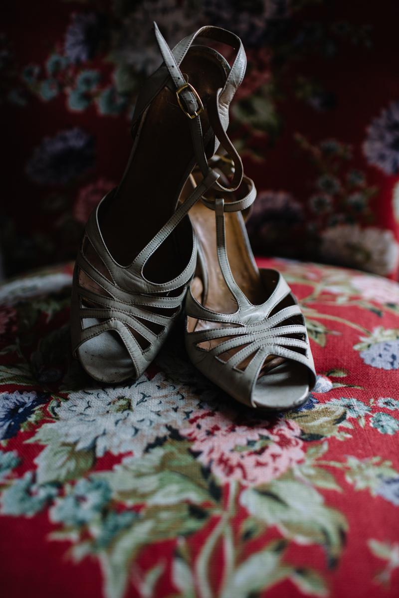scarpe vintage anni '30