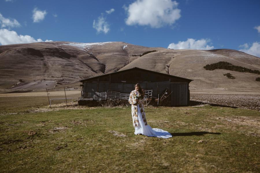 ispirazione matrimonio in montagna