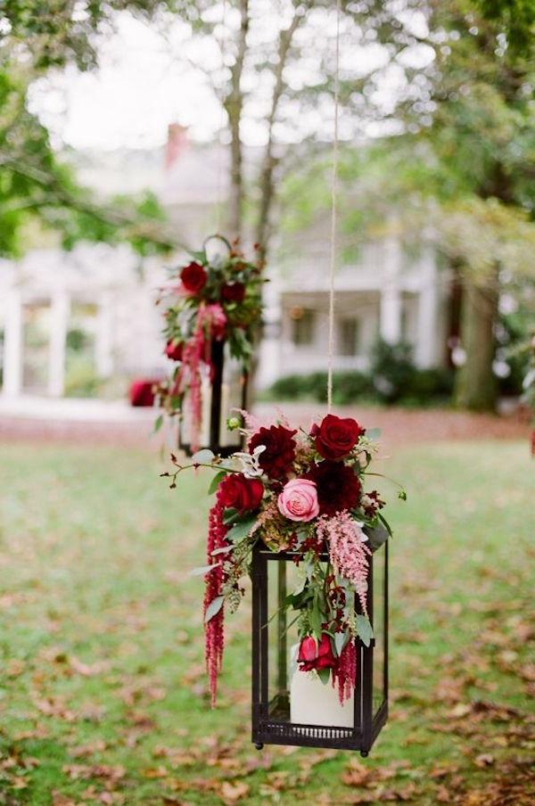 lanterne matrimonio in autunno
