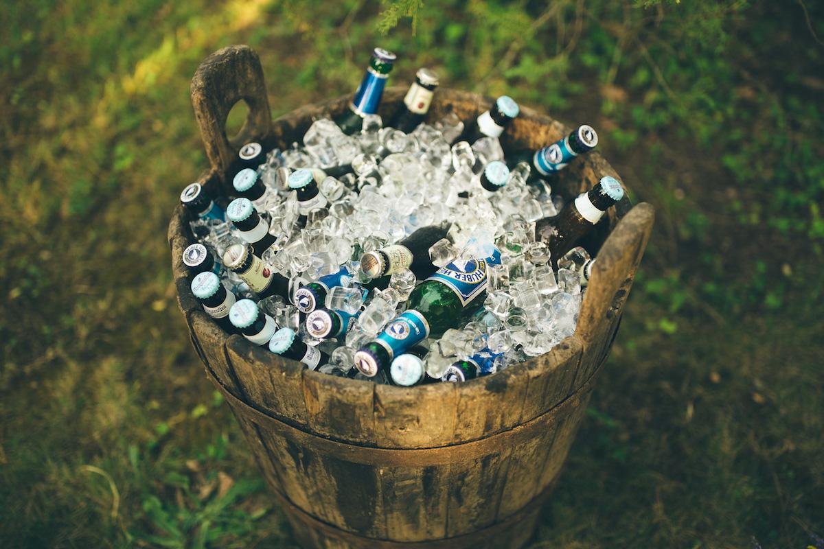 birre in catino di legno
