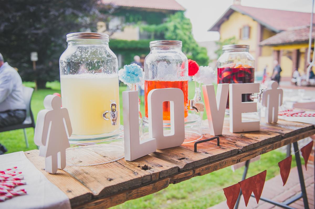 drink station matrimonio