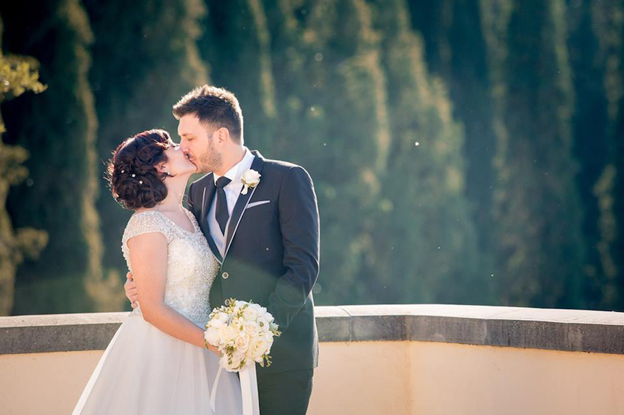 matrimonio romantico e country in umbria