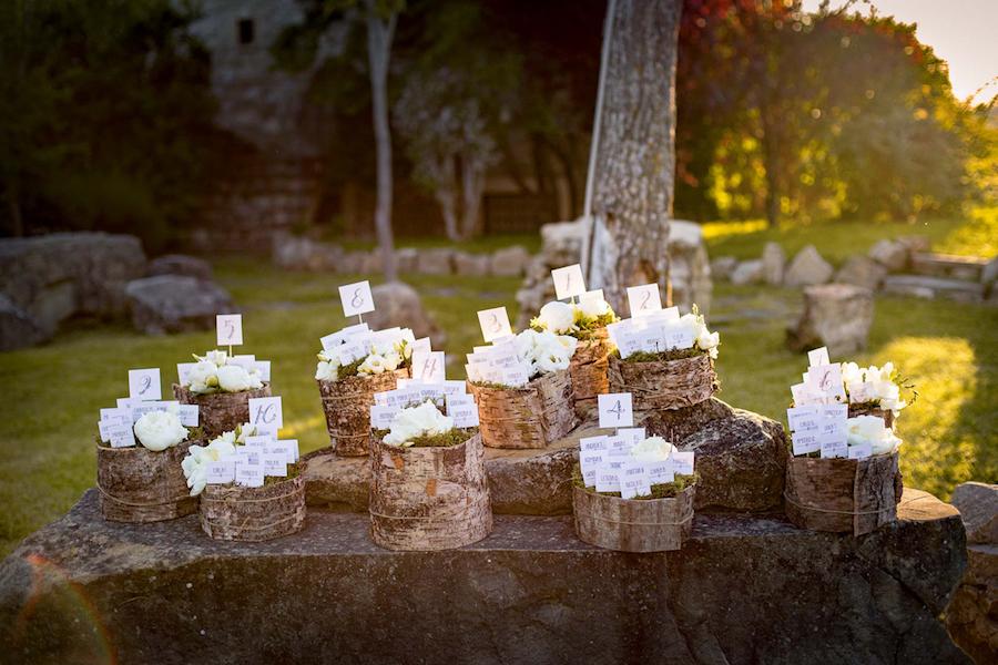 Tableau Matrimonio In Legno : Un matrimonio romantico e country wedding wonderland