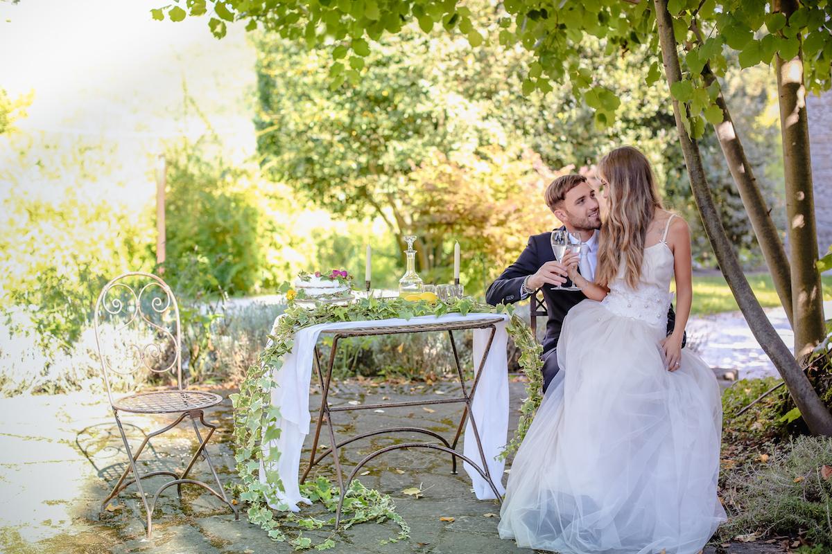 matrimonio romantico e retrò