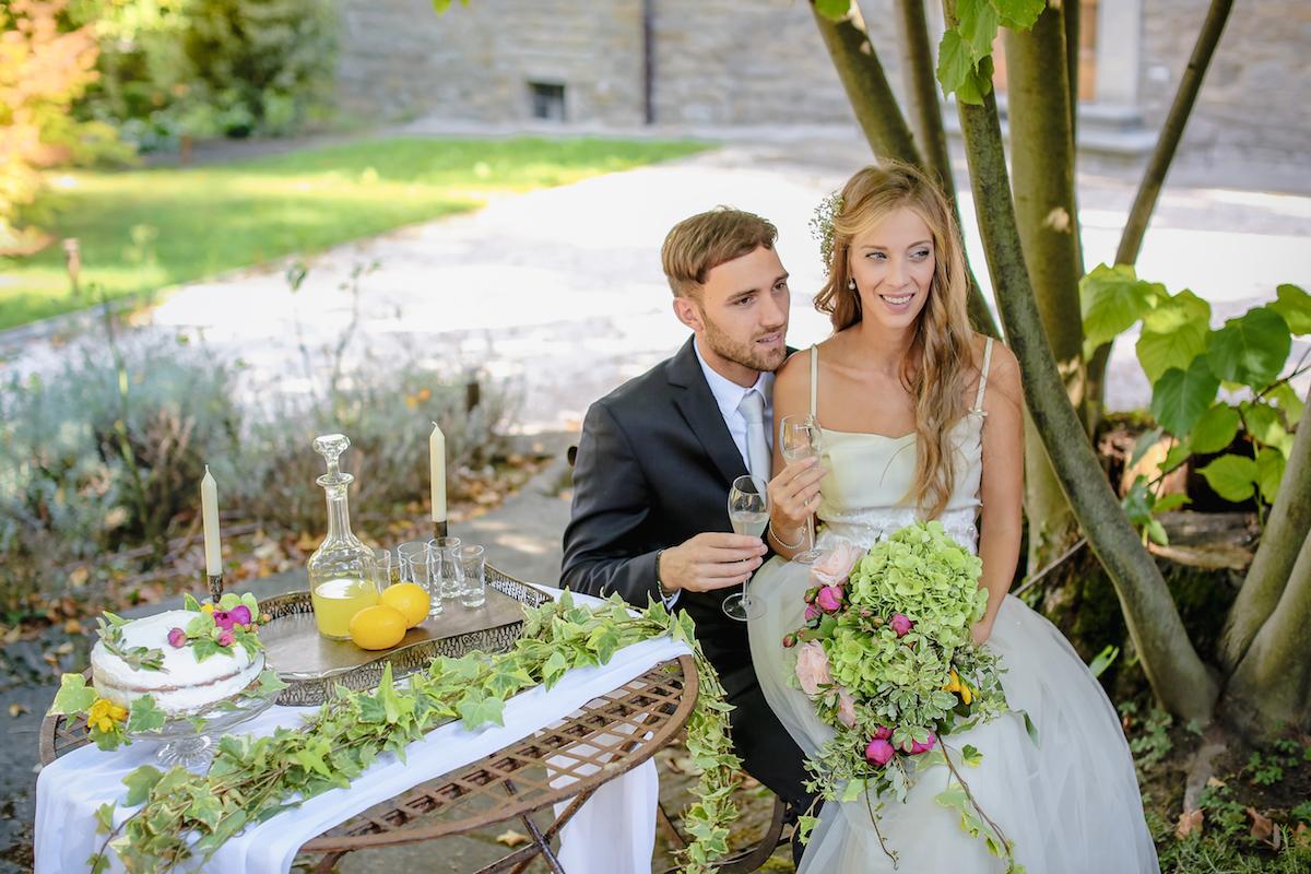 dessert table matrimonio romantico