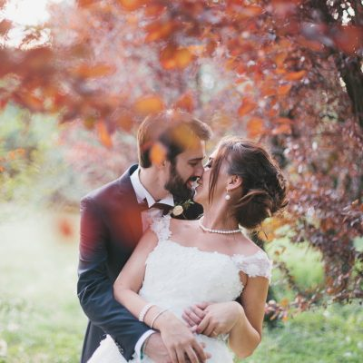 Sfumature di verde per un matrimonio di fine estate