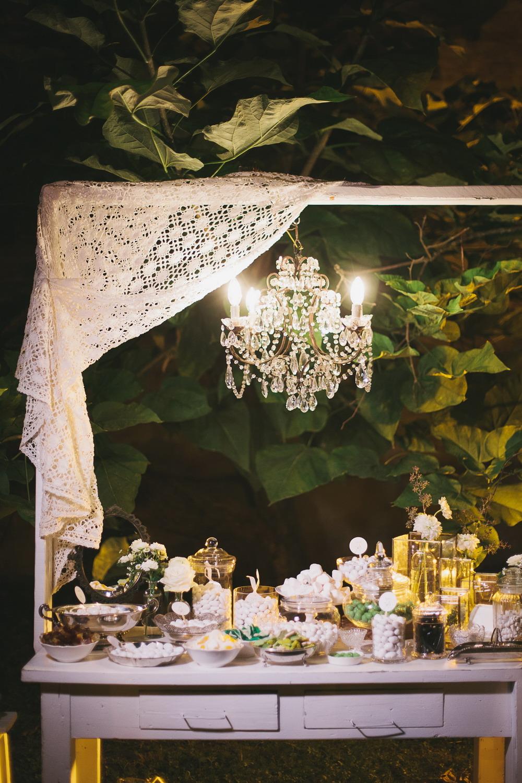 sweet table verde vintage