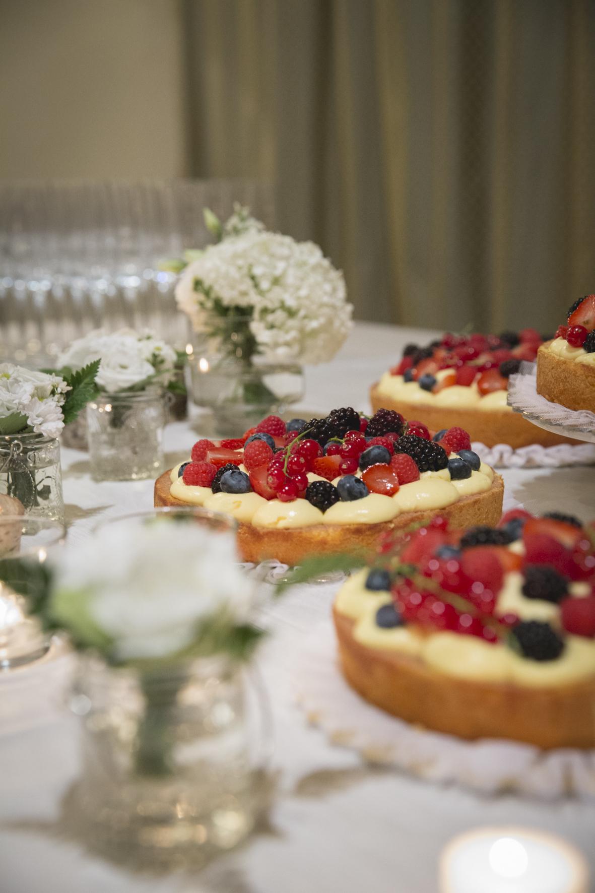 crostate di frutta wedding cake