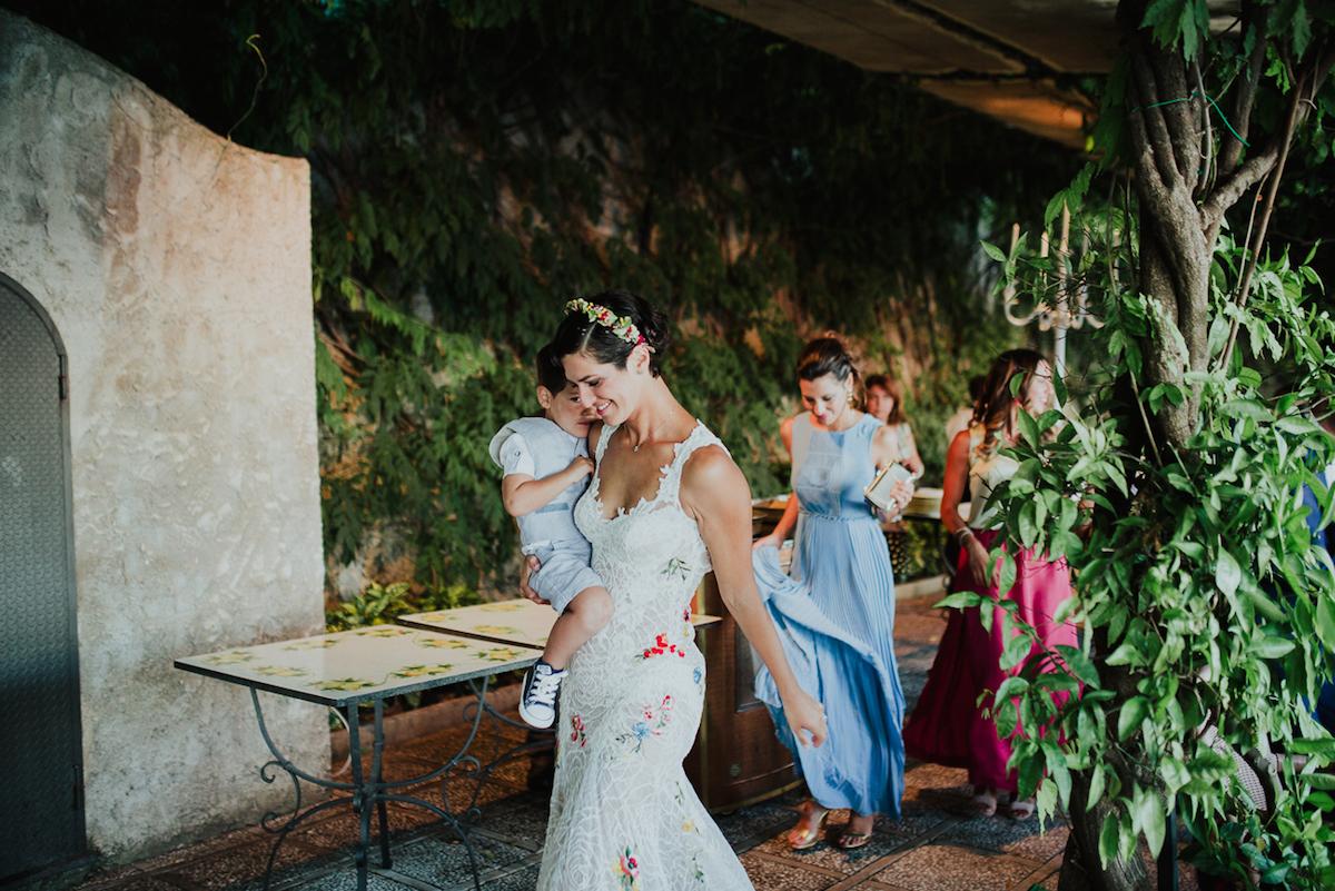 Matrimonio In Toscana Sul Mare : Fiori di campo e spighe per un matrimonio sul mare