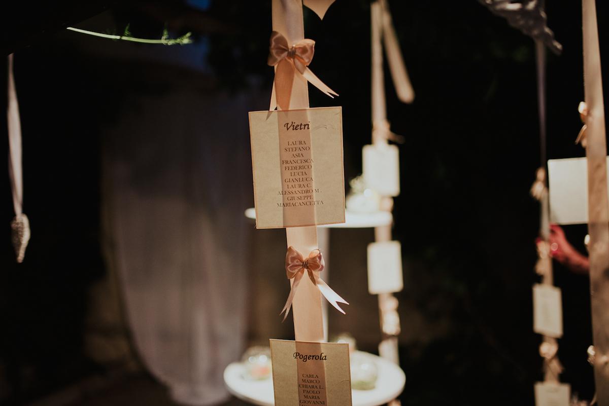 tableau de mariage rosa cipria
