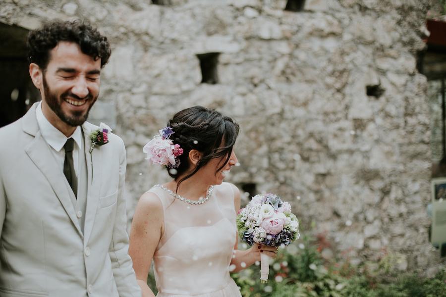 matrimonio vegano al castello di breno