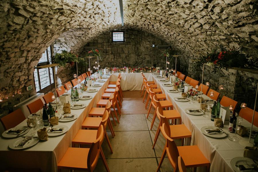 ricevimento di nozze al castello di breno
