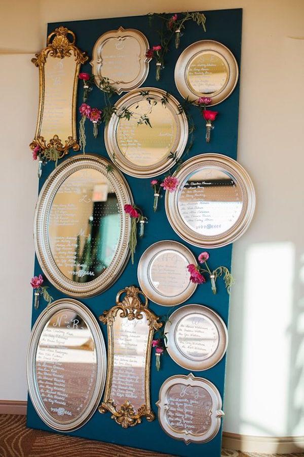 tableau de mariage con specchi