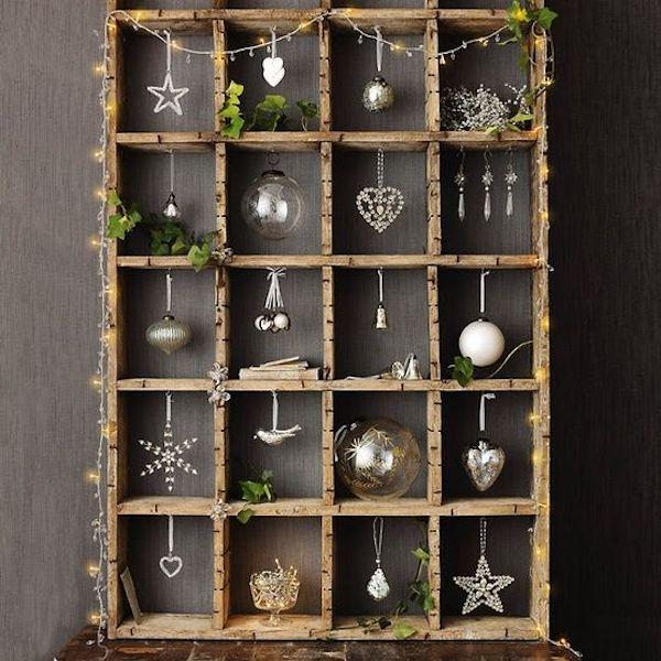 decorazioni di natale con ornamenti