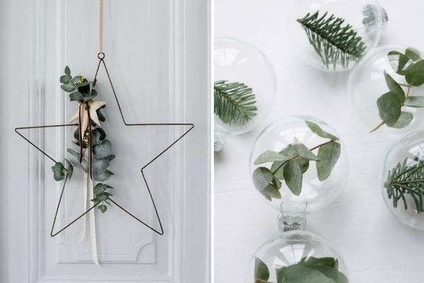 Decorazioni semplicissime per Natale