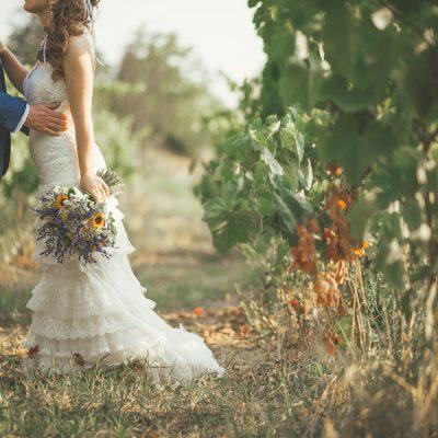 Un matrimonio eco-friendly e boho chic