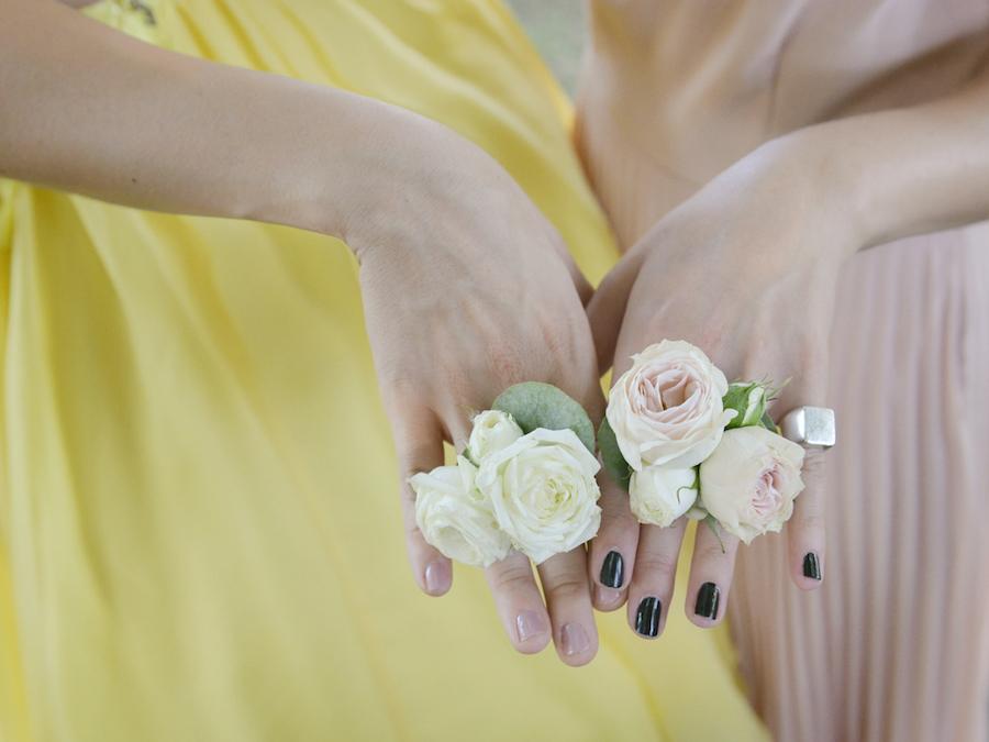 anelli floreali