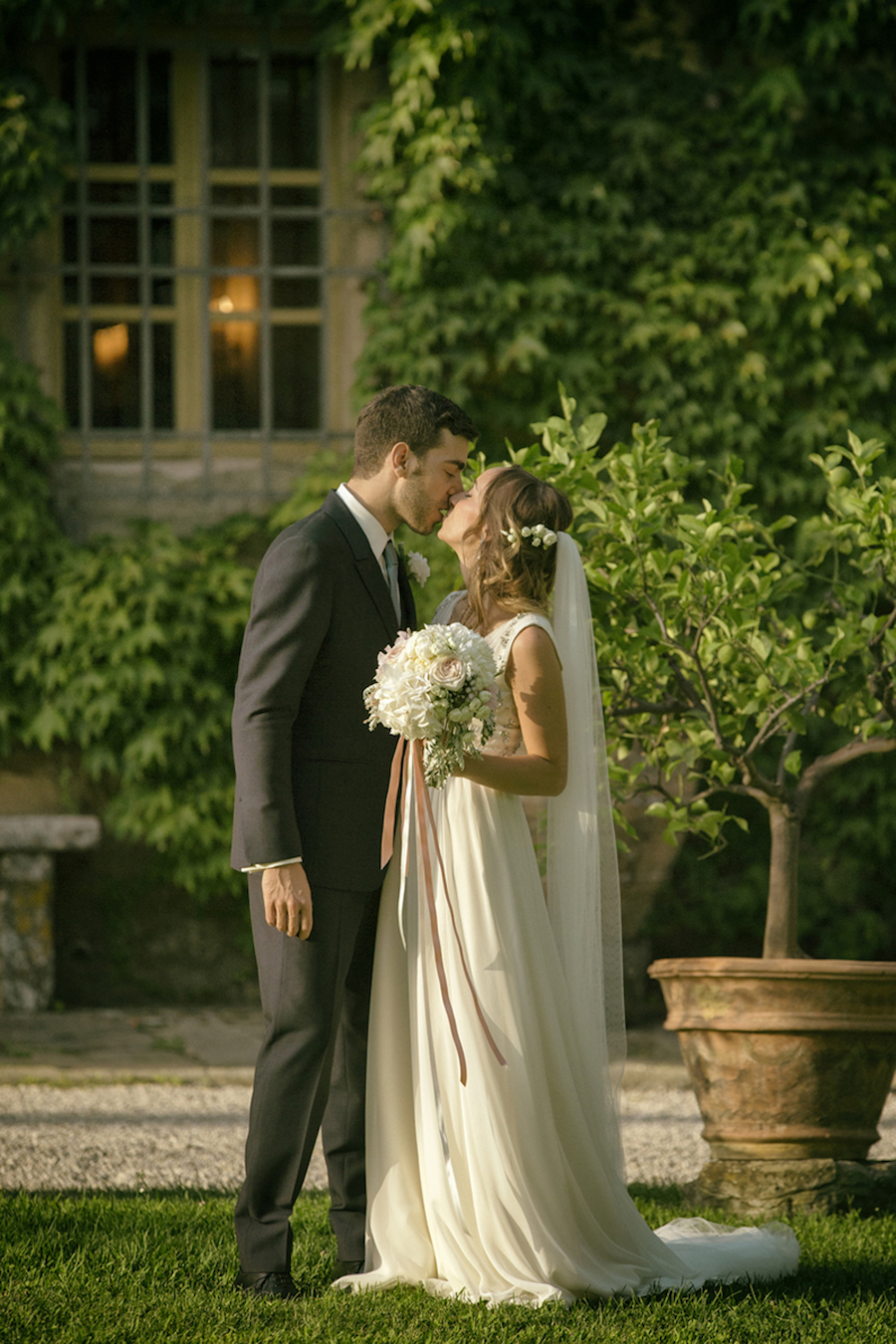 matrimonio romantico dai colori pastello