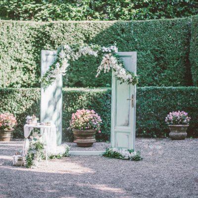 Un matrimonio vintage e letterario