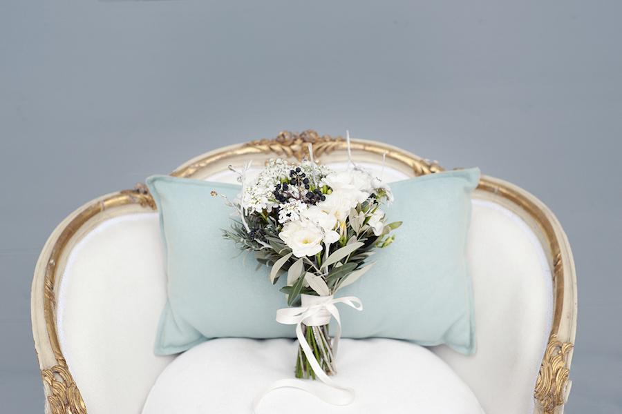 bouquet per un matrimonio in inverno