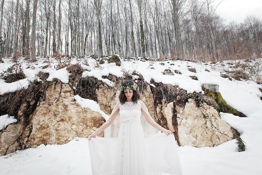 Matrimonio In Inverno Idee : Principessa delle nevi idee per la sposa d inverno