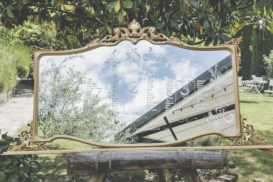 tableau de mariage con specchio