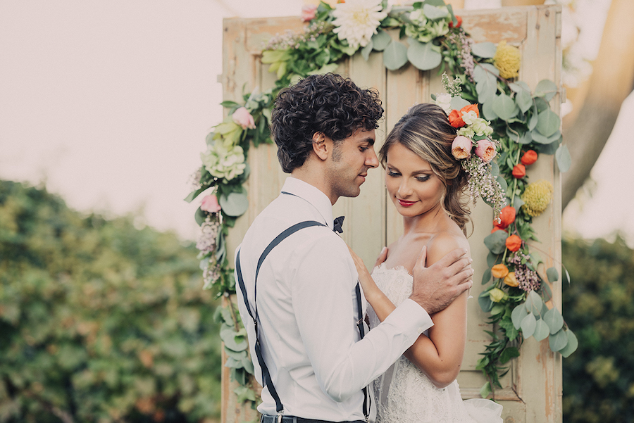 Matrimonio Bohemien Wedding : My secret garden un matrimonio bucolico e boho chic