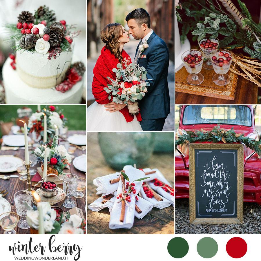 Matrimonio A Natale Streaming : Winter berry ispirazione per un matrimonio a natale