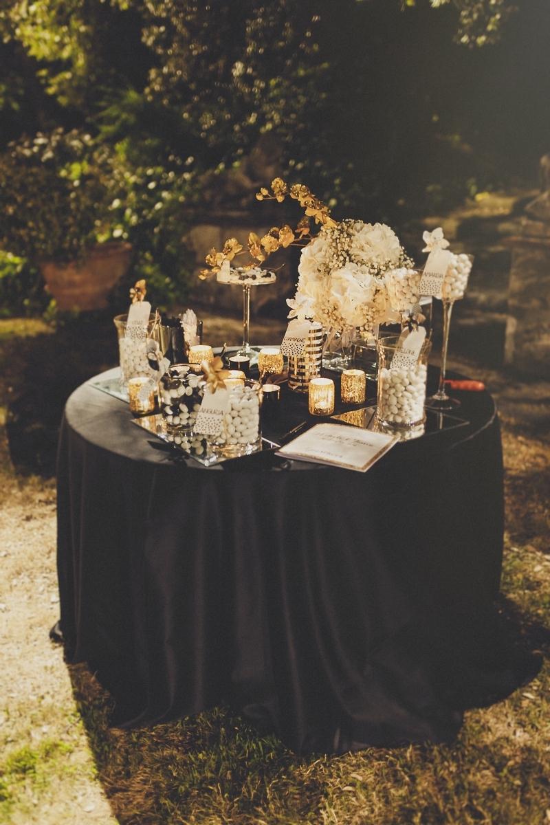 Matrimonio In Nero : Oro e glitter per un matrimonio glamour wedding wonderland