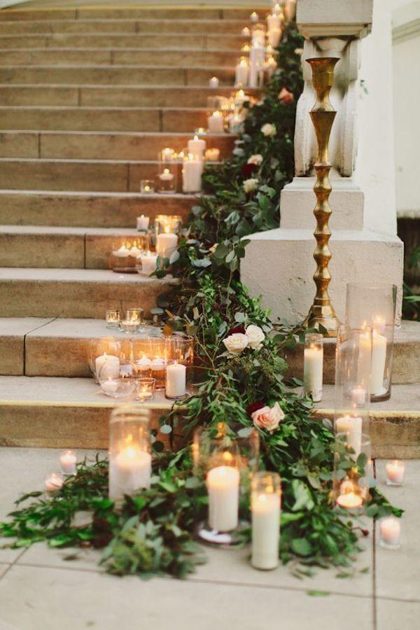 decorazioni per il matrimonio in inverno