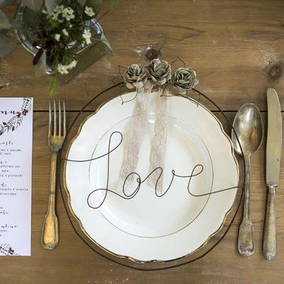 Oro e Marsala per un matrimonio in autunno