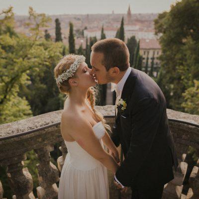 Giallo delicato per un matrimonio a Verona
