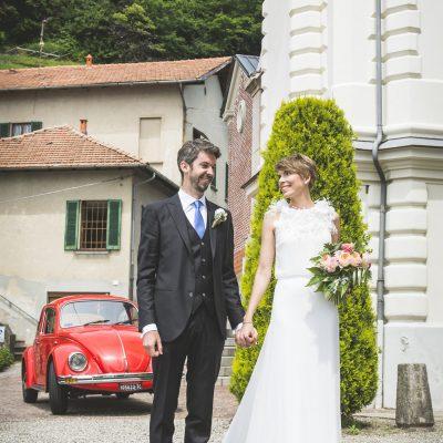 Un matrimonio raffinato sul lago Maggiore