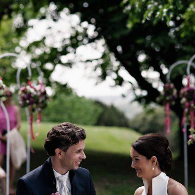 Un matrimonio raffinato in castello