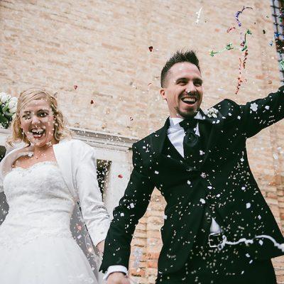 Un matrimonio rustico invernale