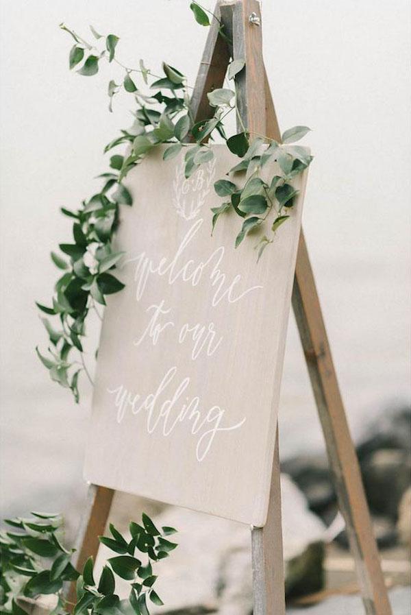 decorazione con foliage