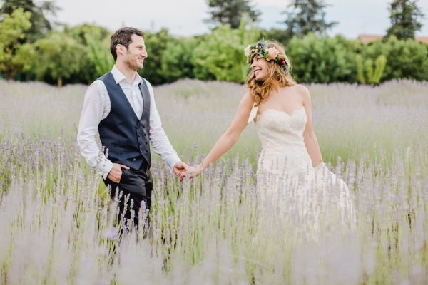 Un matrimonio bohémien e fai da te